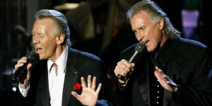Bobby Hatfield, left, of The Righteous Brothers, born August 10, 1940 in Beaver Dam, WI.