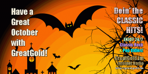 Make Your October and Halloween More Fun With Classic Hit Favs, 24/7!