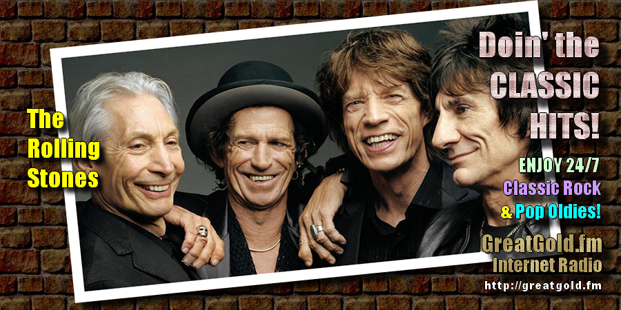 Mick Jagger (pic: center-right) of The Rolling Stones was born July 26, 1943 in Dartford, Kent, England.
